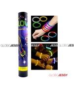 Pulsera luminosa tubo x 50 und.