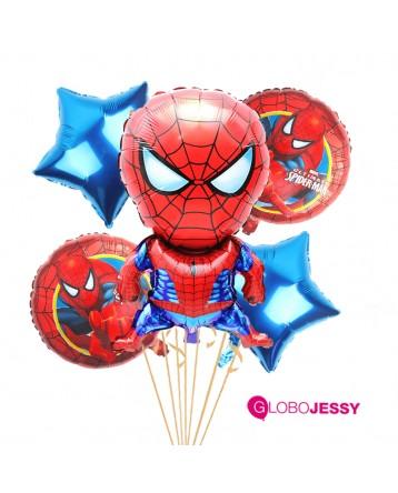 Kit de globos Spiderman