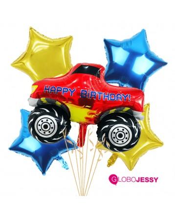 Arenero kit x 5 globos