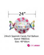 kit de globos caramelo