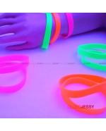 Pulsera o Brazalete Neon silicona