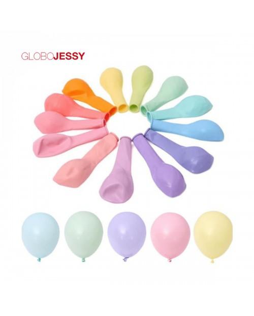 """Kit de Globos Color Pastel 12"""""""